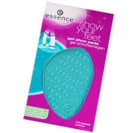 Essence Coussinets de Gel Transparents avec Points de Massage ( Gel Shoe Pads)