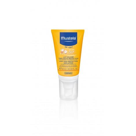 Mustela Bébé/Enfant Lait Solaire Trés Haute Protection spf 50+ 40 ml