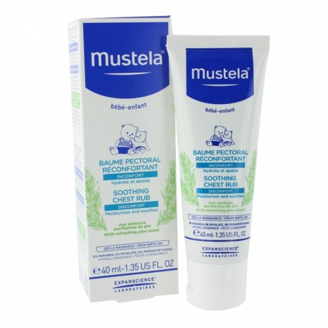 Mustela Baume Réconfortant Soin Pectoral (40 ml)